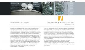 Beckmann & Associates Home Page