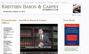 Carpey Law Home Page