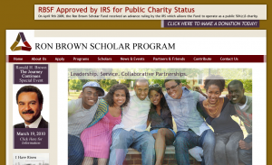 Ron Brown Scholar Home Page